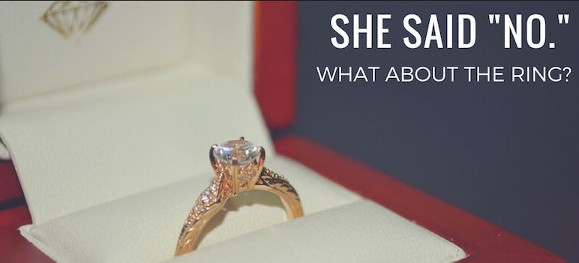 She Said No – What about the Ring??